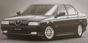 la 164 3000 V6 24 Valvole Quadrifoglio Verde