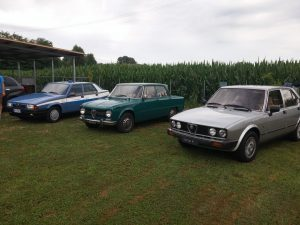 Alfa 75 Polizia, Giulia Super, Alfetta QO