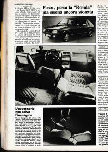 Gente Motori - 1986